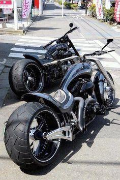 Two tuff bikes