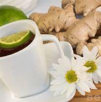 Para esquentar seu inverno: chá de gengibre com limão e mel. Delícia que aquece!