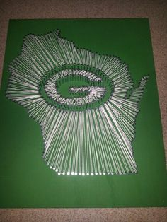 Greenbay Wisconsin nail string board. I took the directions off ...