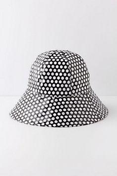 Fairweather Rain Hat, Dots