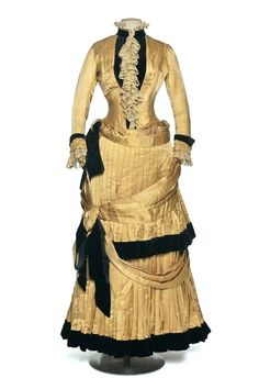 Two-Piece Dress, Chauvet, France: 1884-1886.