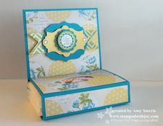 Stampin up Tea for Two Tissue Holder