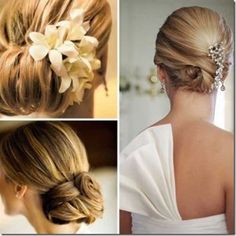 Bridal hair with flower. Bridal hair with flower crown. Bridal hair with flower. Bridal hair decoration with fresh flower. Bridal hair down with flower. Romantic Wedding Hair, Wedding Hair Flowers, Wedding Hair Pieces, Wedding Hair And Makeup, Flowers In Hair, Bridal Hair, Hair Wedding, Chignon Wedding, Perfect Wedding