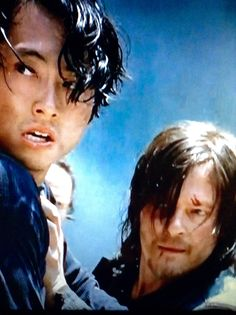 The Walking Dead, season 5. Glen & Daryl.