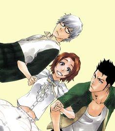 Ishida Ryuuken, Kurosaki Masaki, Shiba Isshin