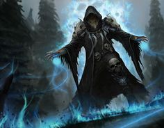 "Check out new work on my @Behance portfolio: ""Summoner"" http://be.net/gallery/54289387/Summoner"