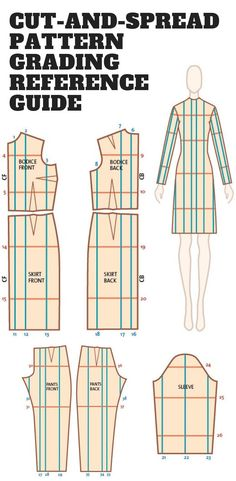 247 Best measurement chart images in 2019 | Sewing patterns
