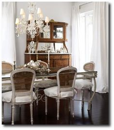 French Dining Chairs- Donna Griffith Photography From Decor Pad