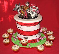 Seussical Cake