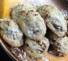 Grandma's Toasted Pecan Butter Cookies
