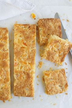 "#Recipeoftheday: Apricot Slice by missyr71 - ""Everyone who has had a slice really enjoyed it. Keeps really well in the fridge, lovely with a cuppa. A recipe I will use again and again."" - homefor5"