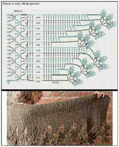 Chal crochet pattern women