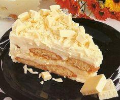 pavê chocolate branco Sobremesas com Leite Condensado Fáceis de Fazer