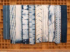 Indigo Dyed Cotton Scarf : Isis. By Graham Keegan on Etsy. | Clothroads