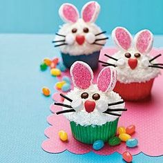 Bunny Cupcakes | The Ultimate Photos