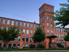 Smartly repurposed buildings. Many of Greenville's mills are now condos.  — Photo by Walter Ezell