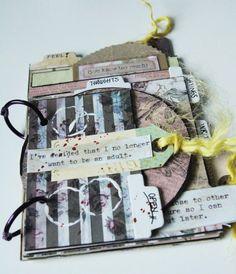 Gypsy Moments Mini Book - Gula Villan i Vallen