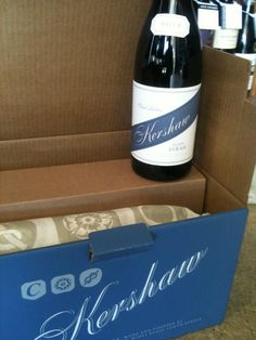 #Kershaw #wine #logos consistent #packaging #branding
