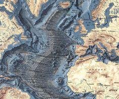 old ocean map - Google 검색