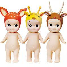 #SonnyAngel #geluksbrengers #dieren serie 2 #bambi #giraffe #deer #littlethingz2
