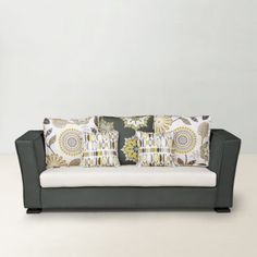 Fab Home Halston Sofa Set Green And Beige - Imperial sitting  Feel the kingly seating while you sit in this luxurious sofa set in unfading beige and brown combination by Fab Home. Ergonomically designed and shaped like a regal sofa, this couch set for five makes for a requisite addition in your furniture shopping. In addition to comfort, the complementary cushions in those keen prints add the color and bling to this furniture. Fabricated for strength This splendid furniture is framed ...