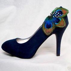 419965787a89 shoes shoes shoes shoes Cute shoes peacock feather shoe clips