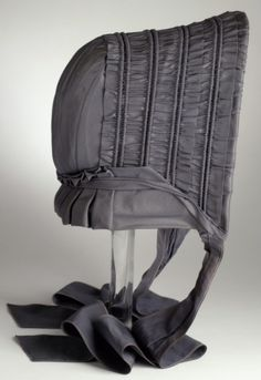 Mid-to-Late 19th century American Bonnet at the Los Angeles County Museum of Art, Los Angeles