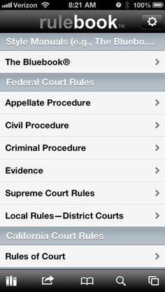Free Mobile Rule Books | Free Rule Book Friday | Lawsitesblog.com