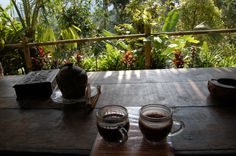 Ethically sourced, home grown coffee in #Bali! Kopi Luwak (Cat poo coffee)
