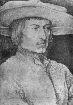 Artist: Dürer, Albrecht, Title: Porträt eines Mannes [1], Date: 1521