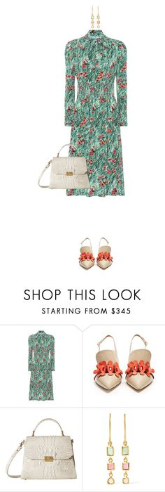 """""""85."""" by olinka1408 ❤ liked on Polyvore featuring Prada, Anya Hindmarch, Brahmin and Pippa Small"""