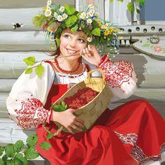 Сладкая ягодка. Волшебные иллюстрации Дорониной Татьяны (Doronina Tatiana).