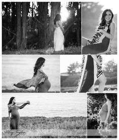 Maternity in Black and White