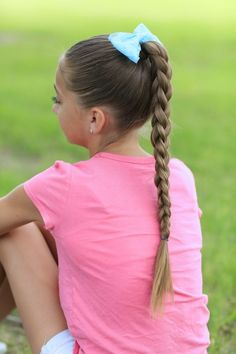 3D Split Braid   Cute Girls Hairstyles