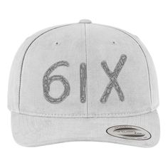 Drake-Six Brushed Embroidered Cotton Twill Hat