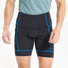 Men Cycling Gel Padded Riding Shorts Mountain Bike Bicycle Quick Dry scanties Outdoor Sport Equipment Big Size S-XXXL Wholesale