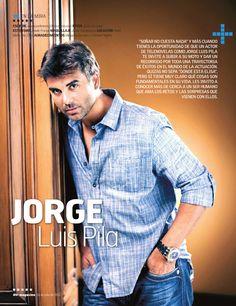 Jorge Luis Pila Denim Button Up, Button Up Shirts, Beautiful People, Hot, Shirt Dress, Mens Tops, Handsome Guys, Fashion, Fabrics
