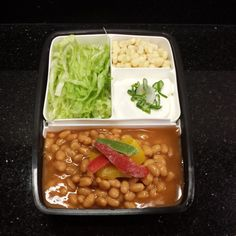 Lunch #40: Pork and Beans   this looks edible