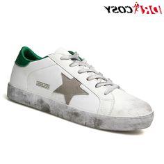 33.90$  Watch here - https://alitems.com/g/1e8d114494b01f4c715516525dc3e8/?i=5&ulp=https%3A%2F%2Fwww.aliexpress.com%2Fitem%2FItaly-Style-Unisex-Casual-Shoes-Famoso-Golden-Genuine-Leather-Men-Women-Vintage-Scarpe-Breathe-Shoes-Brand%2F32712372728.html - Italy Style Unisex Casual Shoes Famoso Golden Genuine Leather Men Women Vintage Scarpe Breathe Shoes Brand Trainers Board Shoes
