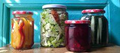 Cómo fermentar vegetales en casa Kimchi, Cooking Recipes, Healthy Recipes, Fermented Foods, Ceviche, Sin Gluten, Preserves, Pickles, Cucumber