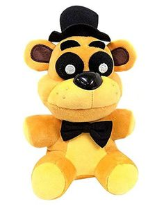 """Hot New Golden Freddy Exclusive Five Nights at Freddys  Plush 7"""" Toy #FunKo"""