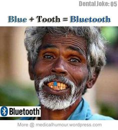 Jokes laughs blue tooth