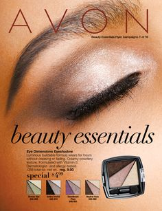 Shop AVON Beauty Essentials Brochure Save 10% on your first order with code: WELCOME
