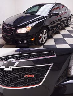 This pre-owned 2011 Chevrolet Cruze with 2LT features a leather interior, but it's the exterior that truly makes this vehicle one of a kind. With the RS package and custom pinstriping, you'll be confident that people are watching.