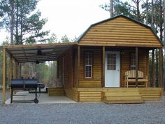 Portable Storage Shed Cabin 24 Ideas Shed To Tiny House, Tiny House Cabin, Tiny House Living, Tiny House Design, Small House Plans, Lofted Barn Cabin, Shed Cabin, Bunkhouse, Shed Homes
