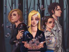 Magician Art, The Magicians Syfy, Fantasy Photography, Witches, Book Worms, Art Drawings, Fanart, Fandoms, Princess Zelda