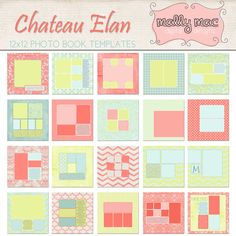Items similar to Chateau Elan Photo Album Book Template Set Photographers Digital Paper Printable Photoshop on Etsy Photo Album Book, Birthday Book, Baby Album, Photoshop Photography, Summer Colors, Birthdays, Mac, Templates, Scrapbooking