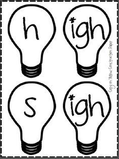 Reading Words, Reading Practice, Lightbulbs, Reading Activities, Small Groups, Phonics, Language Arts, School Ideas, Student