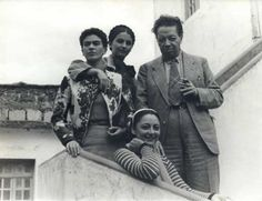 Frida Kahlo, Cristina Kahlo, Diego Rivera, Rosa Covarrubias