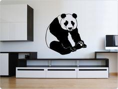 Wandtattoo Panda